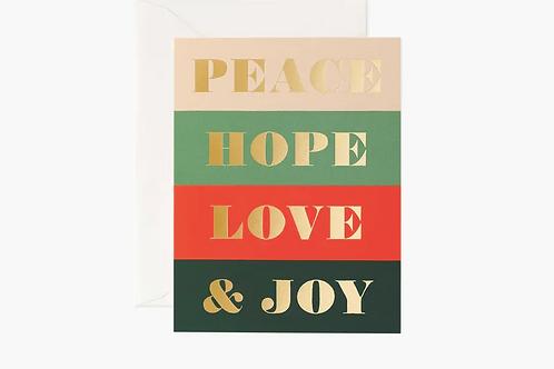 Rifle Paper Co. | Peace & Joy Boxed Set