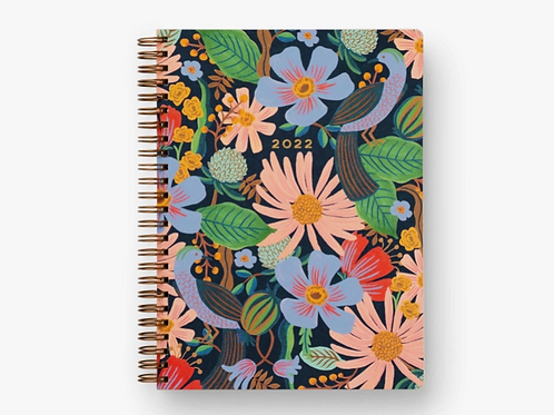 Rifle Paper Co. | 2022 Dovecote 12-Month Softcover Spiral Planner