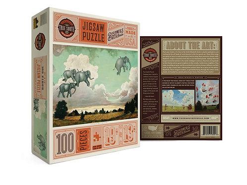 Beginner's Batch Flying Elephants Puzzle
