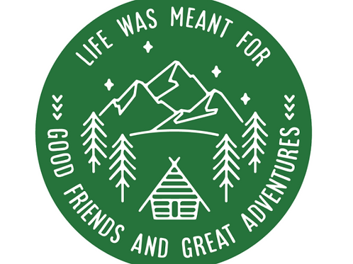 Life Was Meant Sticker
