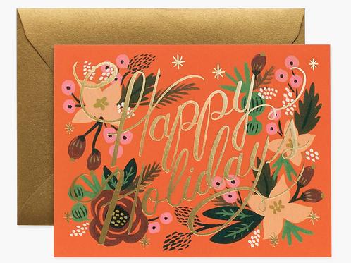 Rifle Paper Co. |  Poinsettia Holiday Box Set