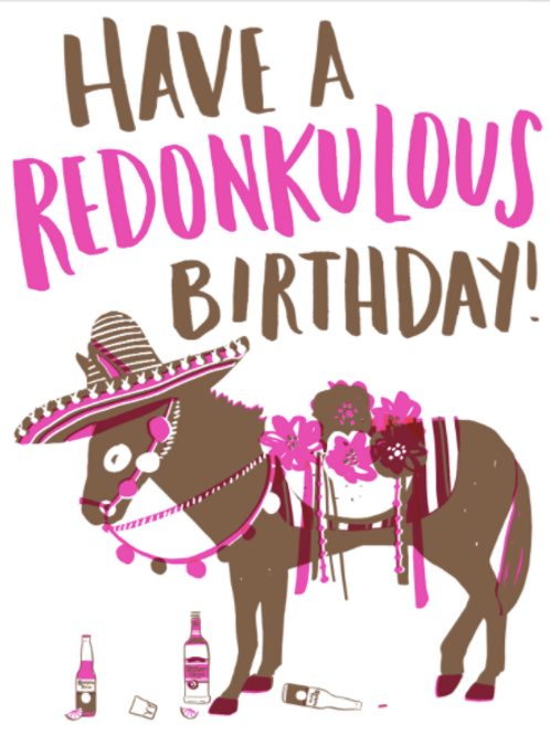 Redonkulous Birthday