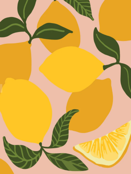 Pink Picasso | Be Zesty Lemon Paint Kit