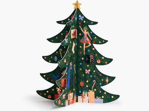 Rifle Paper Co. | Christmas Tree Advent Calendar