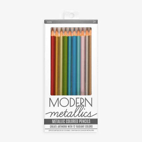 Metallic Colored Pencil Set