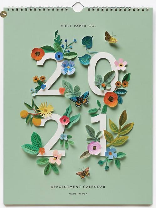 Rifle Paper Co. | 2021 Cut Paper Appointment Calendar