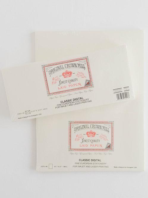 Original Crown Mill | Business Pad + Envelope