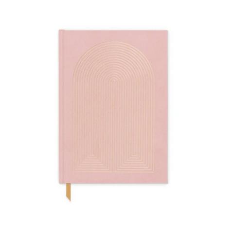 Dusty Pink Radiant Rainbow Journal