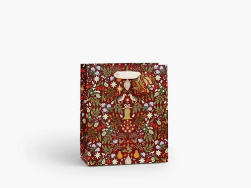 Rifle Paper Co. | Partridge Holiday Gift Bag