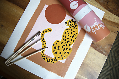 Pink Picasso | Go Wild Cheetah Paint Kit