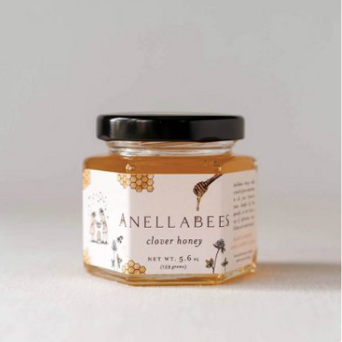 Anellabees | Raw Clover Honey