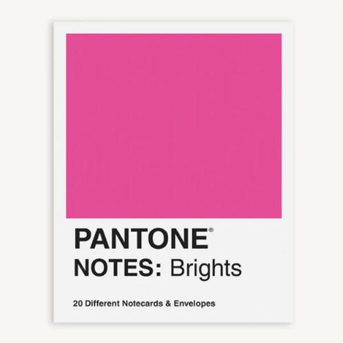 Pantone Notes: Brights Stationery Set