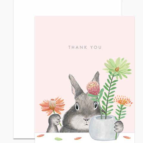 Protea Thank You Bunny
