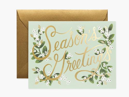 Rifle Paper Co. | Mistletoe Season's Greetings Box Set