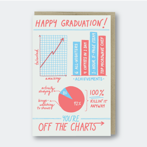 You Are Off the Charts, Grad!