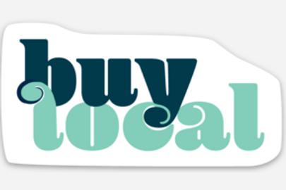 Buy Local Sticker