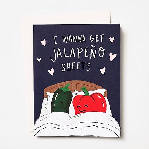Jalapeno Sheets Card
