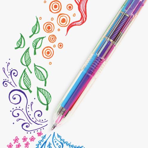 Six-Click Gel Pen