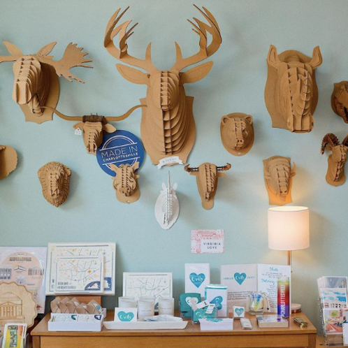 Cardboard Safari | Cardboard Animal Head Mounts