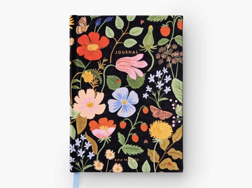 Rifle Paper Co. | Strawberry Fields Fabric Journal