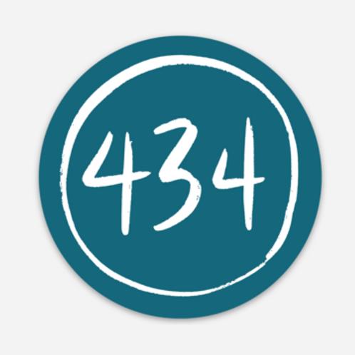 434 Sticker