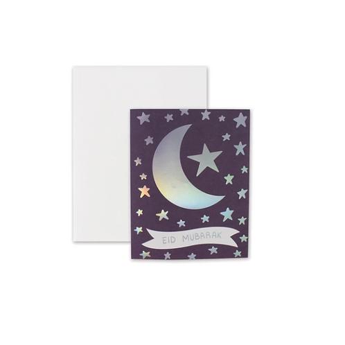 Crescent Star - Eid Mubarak