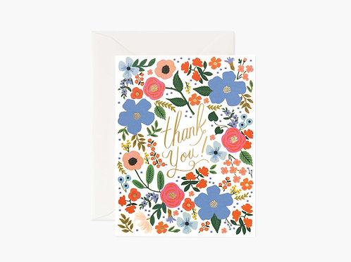 Wild Rose Thank You