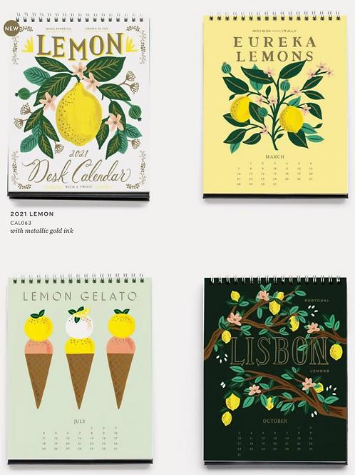 Rifle Paper Co. | 2021 Lemon Desk Calendar
