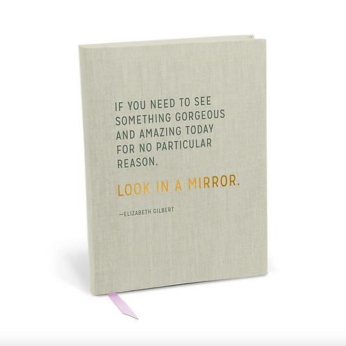 Elizabeth Gilbert Gorgeous & Amazing Journal