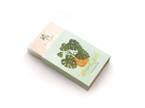 Plants Thank You Notecard Set