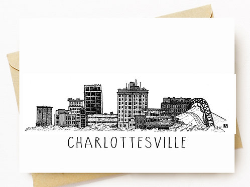 Charlottesville Skyline