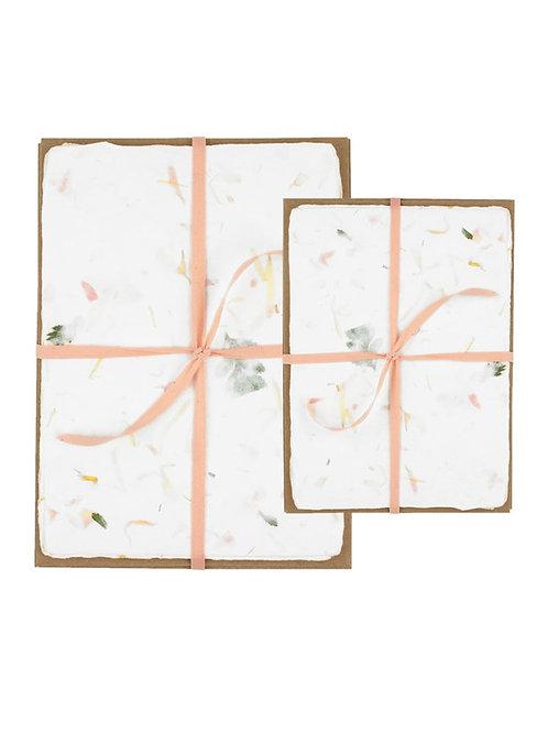 Oblation | Deckled Edge Stationery Set, Floral