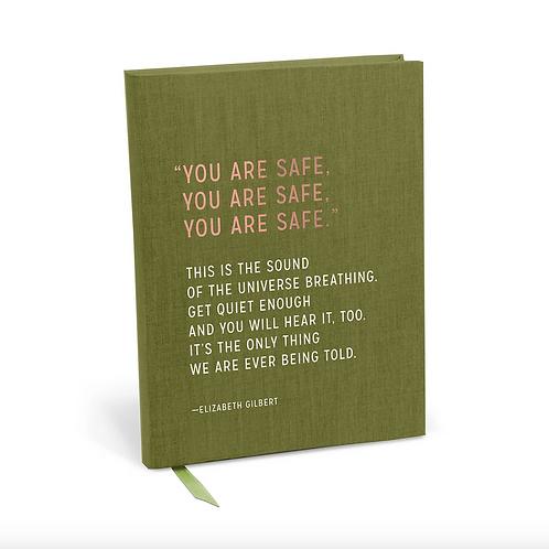 Elizabeth Gilbert You Are Safe Journal