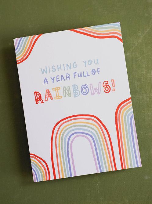 RPS | Wishing You a Year Full of Rainbows Birthday