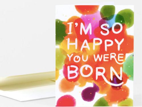 Happy You Were Born Birthday