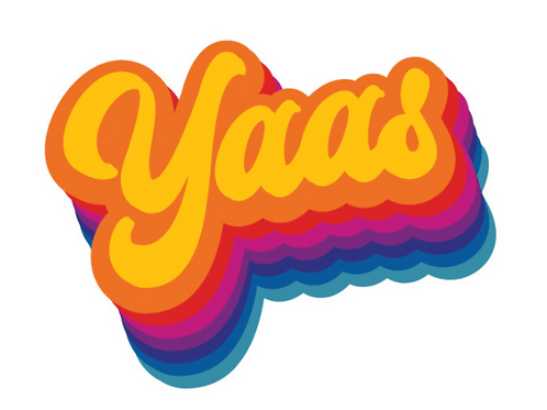 Yaas Rainbow Sticker