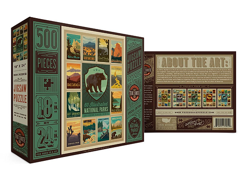 National Parks Collection Puzzle - Bear