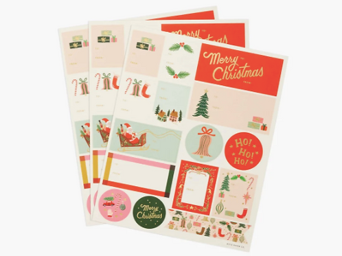 Rifle Paper Co. | Assorted Holiday Sticker Sheets