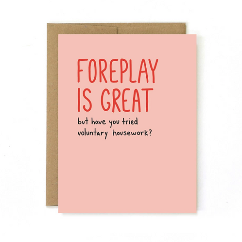 Foreplay Is Great, But...Valentine