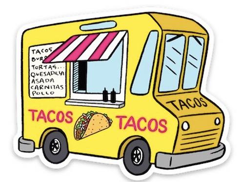 Taco Food Truck Sticker