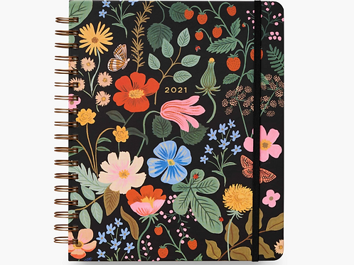 Rifle Paper Co. | 2021 Strawberry Fields 17-Month Spiral Planner