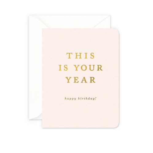This Is Your Year Birthday