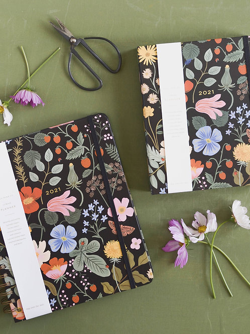 Rifle Paper Co.   2021 Strawberry Fields 17-Month Covered Planner