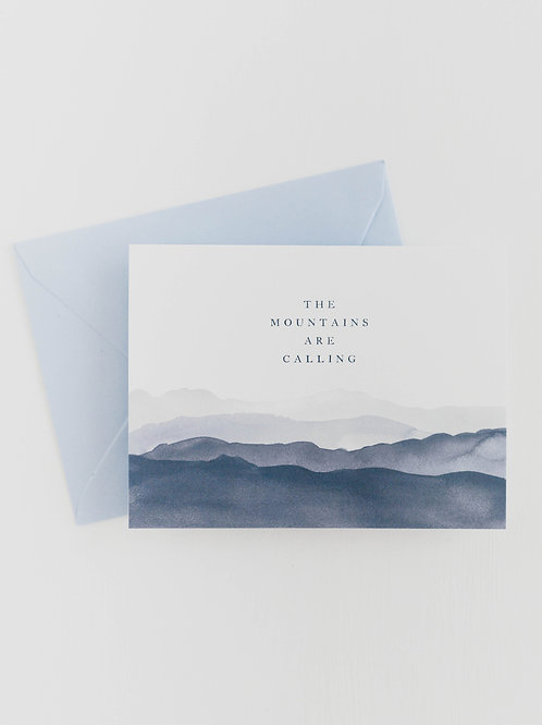 RPS | The Mountains are Calling