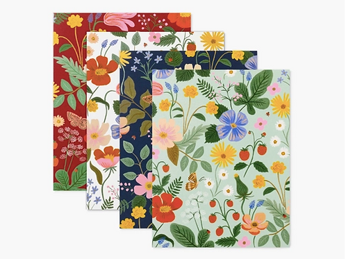 Rifle Paper Co. | Assorted Strawberry Fields Notecard Set