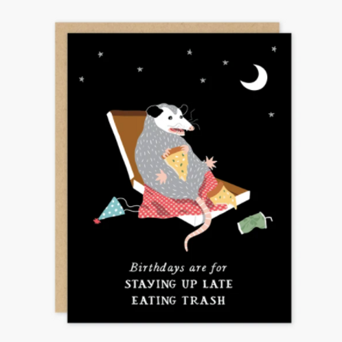 Birthday Possum
