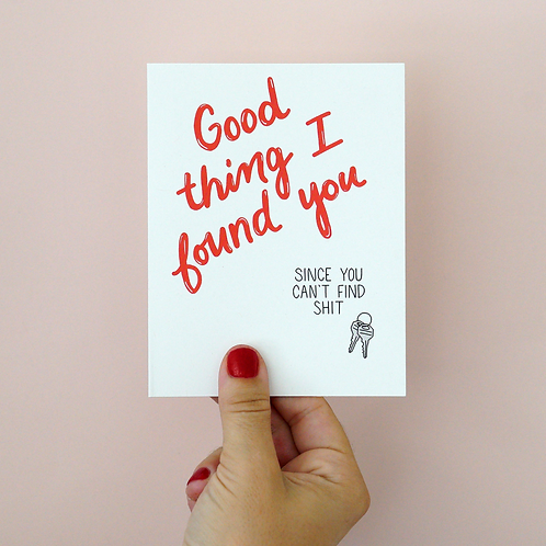 Good Thing I Found You...