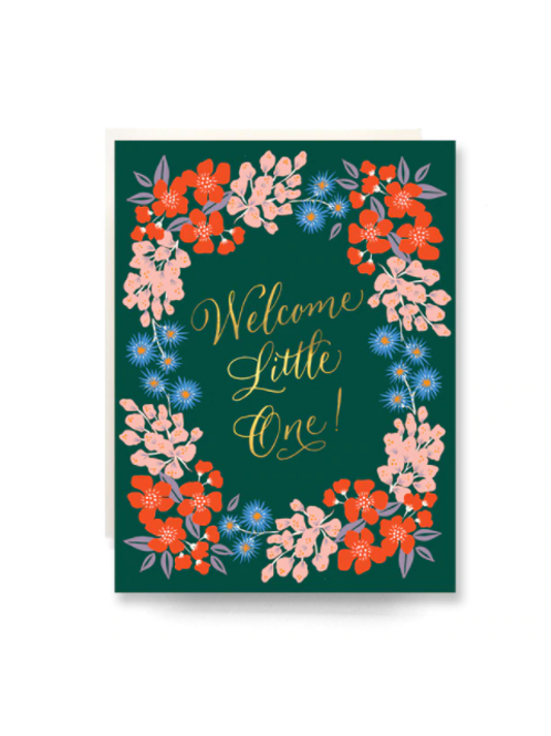 Wildflowers Welcome Little One