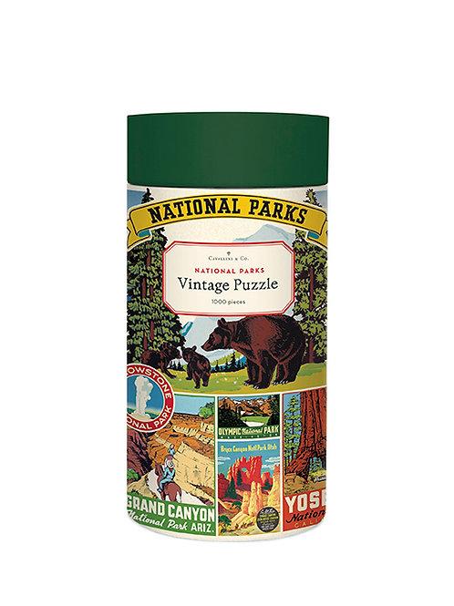 Cavallini | National Parks 1,000 Piece Puzzle