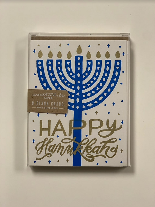 Worthwhile Paper Happy Hannukkah Box Set